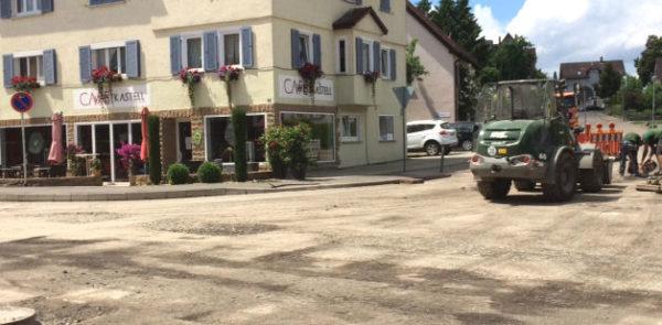 Baustelle Cafe Westkastell